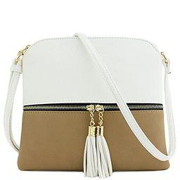 Lightweight Medium Crossbody Bag with Tassel   Amazon (US)
