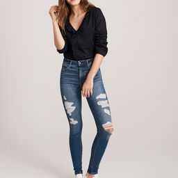 High Rise Super Skinny Jeans | Abercrombie & Fitch US & UK