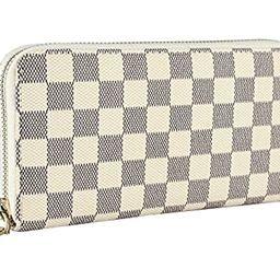 Daisy Rose Women's Wallet on Sale PU Vegan Leather Clutch Handbag RFID Zipper Organizer Card Holder | Amazon (US)