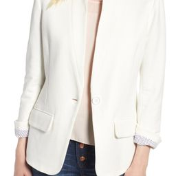 Olivia Moon Cotton Blend Knit Blazer (Regular & Petite)   Nordstrom