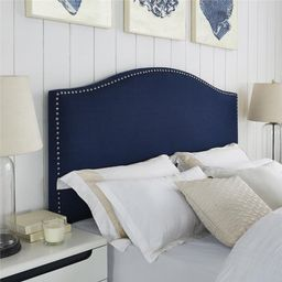 Better Homes and Gardens Grayson Full/Queen Linen Upholstered Headboard with Nailheads, Multiple Col   Walmart (US)