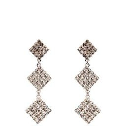 Crystal-embellished drop earrings | Alessandra Rich | Matchesfashion (UK)