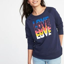 Relaxed Graphic Crew-Neck Sweatshirt for Women   Old Navy US