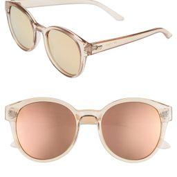 Paramount 52mm Round Sunglasses | Nordstrom