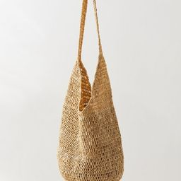 Slouchy Straw Tote Bag | Urban Outfitters (US and RoW)