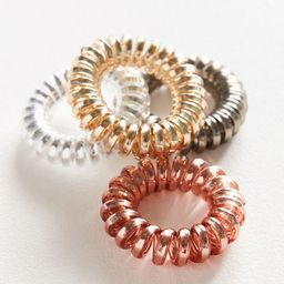 Telephone Cord Hair Tie Set | Urban Outfitters (US and RoW)