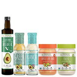 Primal Kitchen - Whole 30 Kit | Mayo, Chipotle Lime Mayo, Extra Virgin Avocado Oil, Greek Vinaigrett | Amazon (US)