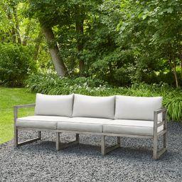 Monaco Patio Sofa with Cushions   Wayfair North America