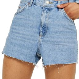Topshop Denim Mom Shorts | Nordstrom