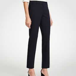 The Petite Ankle Pant In Dense Twill   Ann Taylor (US)