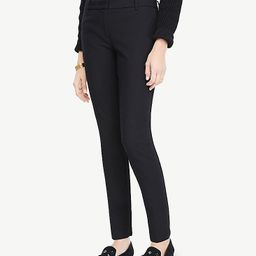 The Ankle Pant In Dense Twill | Ann Taylor (US)
