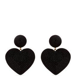 Cora heart cord earrings | Rebecca de Ravenel | Matchesfashion (UK)