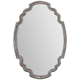 Uttermost 14483 Ludovica Aged Wood Mirror | Amazon (US)