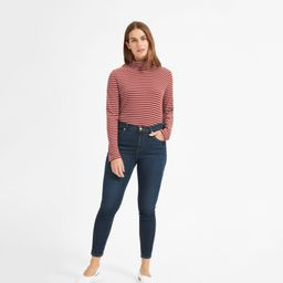 The Authentic Stretch Mid-Rise Skinny Ankle Jean   Everlane