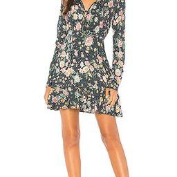 AUGUSTE Spring Rose Wylde Mini Dress in Navy | Revolve Clothing (Global)