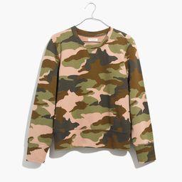 Crewneck Sweatshirt in Cottontail Camo | Madewell