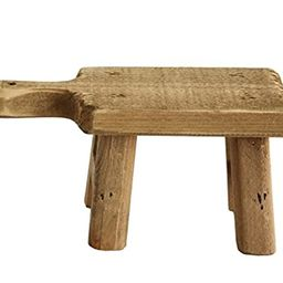Creative Co-Op DA6897 Small Wood Pedestal with Handle | Amazon (US)