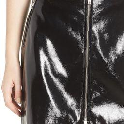 Patent Miniskirt | Nordstrom