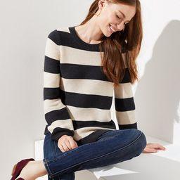 Striped Swingy Sweater | LOFT | LOFT