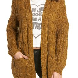 Chunky Cable Knit Cardigan | Nordstrom