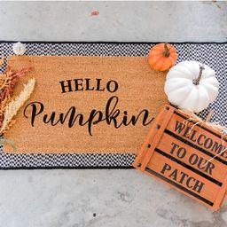 Hello Pumpkin Doormat - Funny Door Mat - Football Doormat - Welcome Door Mat - Funny Doormats - Door | Etsy (CAD)