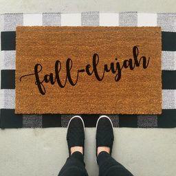 Fall Elujah Doormat / Fall Doormat / Fall Decor / Front Porch Decor / Fall Front Porch / Door Mat /  | Etsy (CAD)