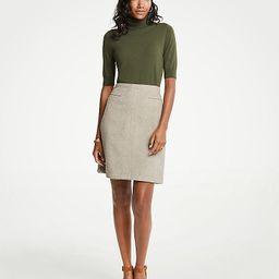 A-Line Pocket Skirt | Ann Taylor (US)
