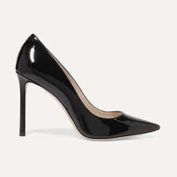 Romy 100 patent-leather pumps   Net-a-Porter (US)