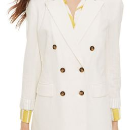 Topshop Double Breasted Blazer   Nordstrom