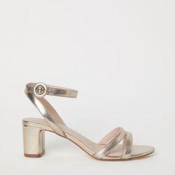 H & M - Sandals - Gold | H&M (US)