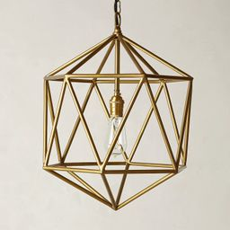 Euclidean Pendant, Faceted Orb | Anthropologie (US)