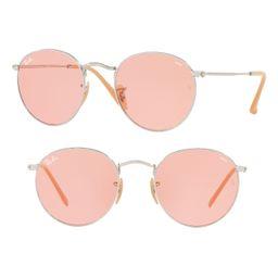 Women's Ray-Ban 53Mm Evolve Photochromic Round Sunglasses - | Nordstrom