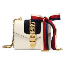 Sylvie leather mini chain bag   Gucci (UK)