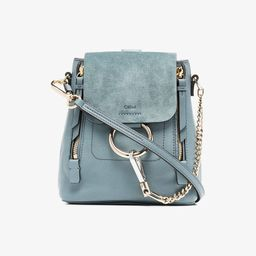 Chloé mini Faye backpack | Browns Fashion