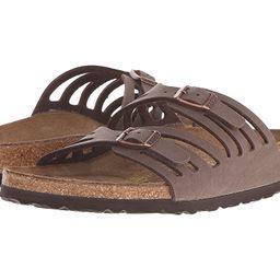 Birkenstock Granada (Mocha) Women's Sandals   Zappos