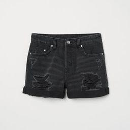 H & M - Denim Shorts - Black | H&M (US)