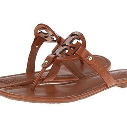 Tory Burch Miller Flip Flop Sandal (Vintage Vachetta) Women's Shoes   Zappos