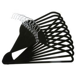 Huggable Hangers 10-pk Suit Hangers - Black | Target