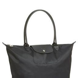 Longchamp 'Large Le Pliage Neo' Nylon Tote - Black | Nordstrom