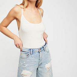 Heartbreaker Long Jean Shorts by We The Free at Free People Denim   Free People (US)