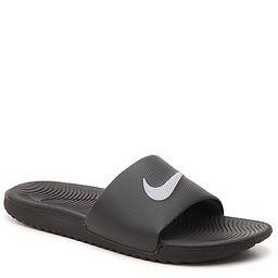 Nike Kawa Slide Sandal - Women's - Black   DSW