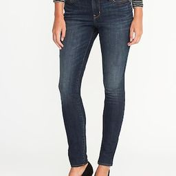 Old Navy Womens Mid-Rise Curvy Skinny Jeans For Women Rinse Size 0 | Old Navy US