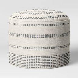 Darien Pouf Textured Neutral? - Project 62   Target