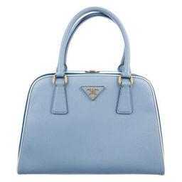 Prada Saffiano Lux Pyramid Bag gold   The RealReal