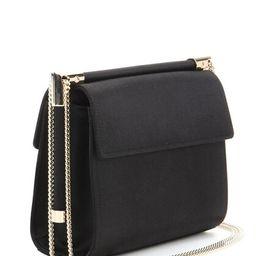 Miss Viv' Mini black satin shoulder bag | Mytheresa (INTL)
