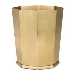 Bathroom Wastebasket Gold - Threshold | Target