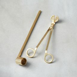 2-Piece Wick Trimmer and Candle Snuffer Set   CB2
