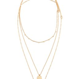 Madewell Coin Layer Pendant Necklace   Shopbop