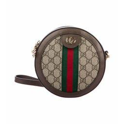 Gucci Mini Ophidia Round Crossbody Bag Beige Gucci Mini Ophidia Round Crossbody Bag | The RealReal