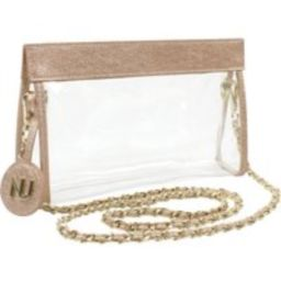 Clear Stadium Purse / NU Women Handbags / Clear Purse / Clear Crossbody / Clear Handbag Purse / Clear Bags for Football Games   Etsy (US)